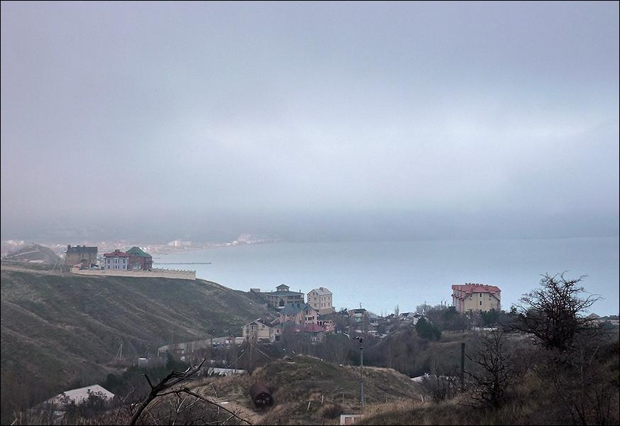 Коктебель в тумане (Е.Свиридова)