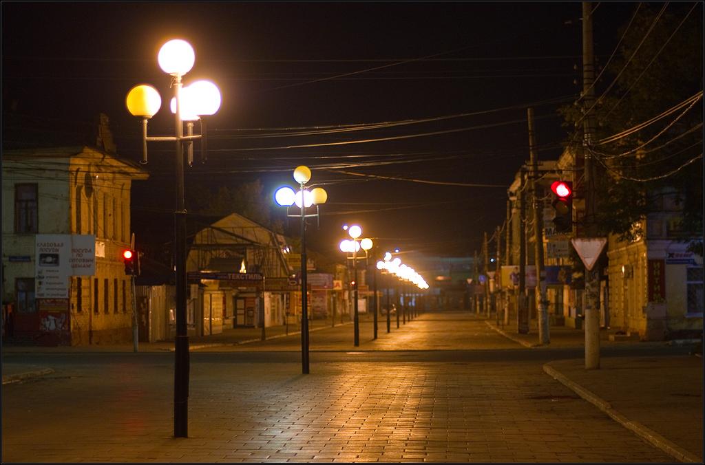 Ночь, улица, фонари