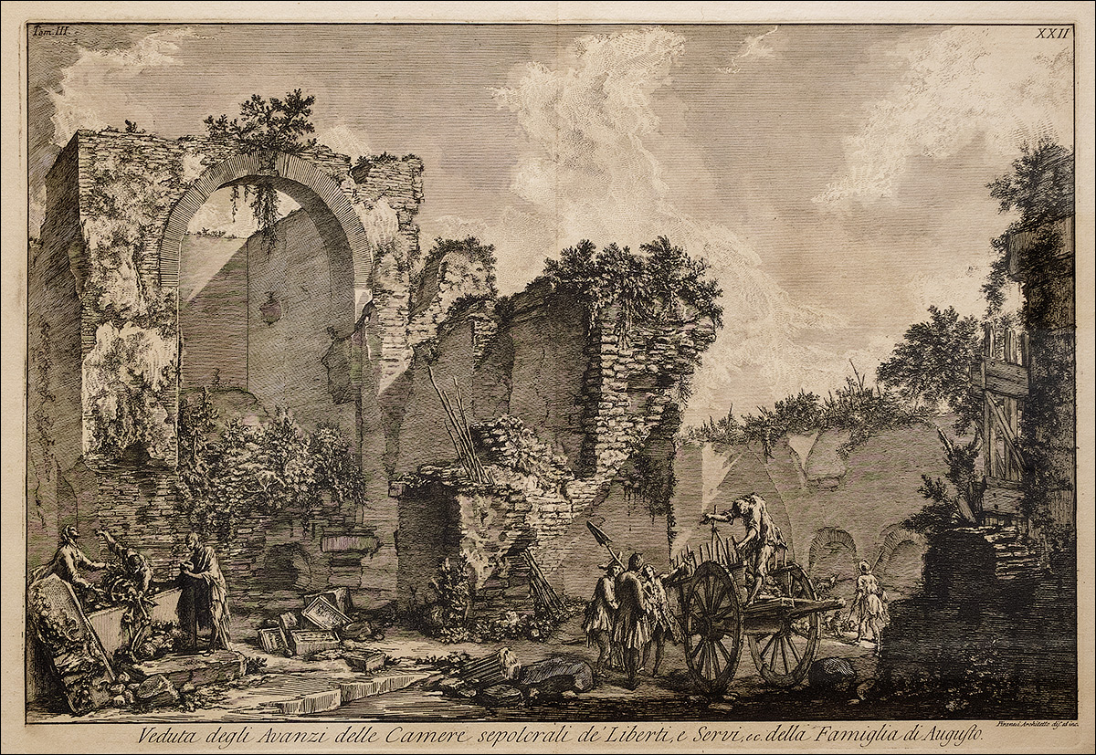 DSCF2457_Джованни-Баттиста-Пиранези_Усыпальница-вольноотпущенников-и-рабов-семьи-Августа-1740-е