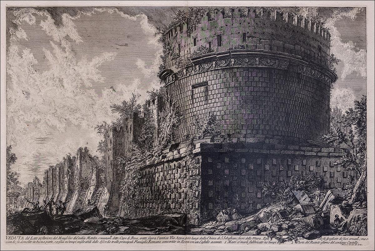 DSCF2461_Джованни-Баттиста-Пиранези_Мавзолей-Цецилии-Метеллы-1740-е