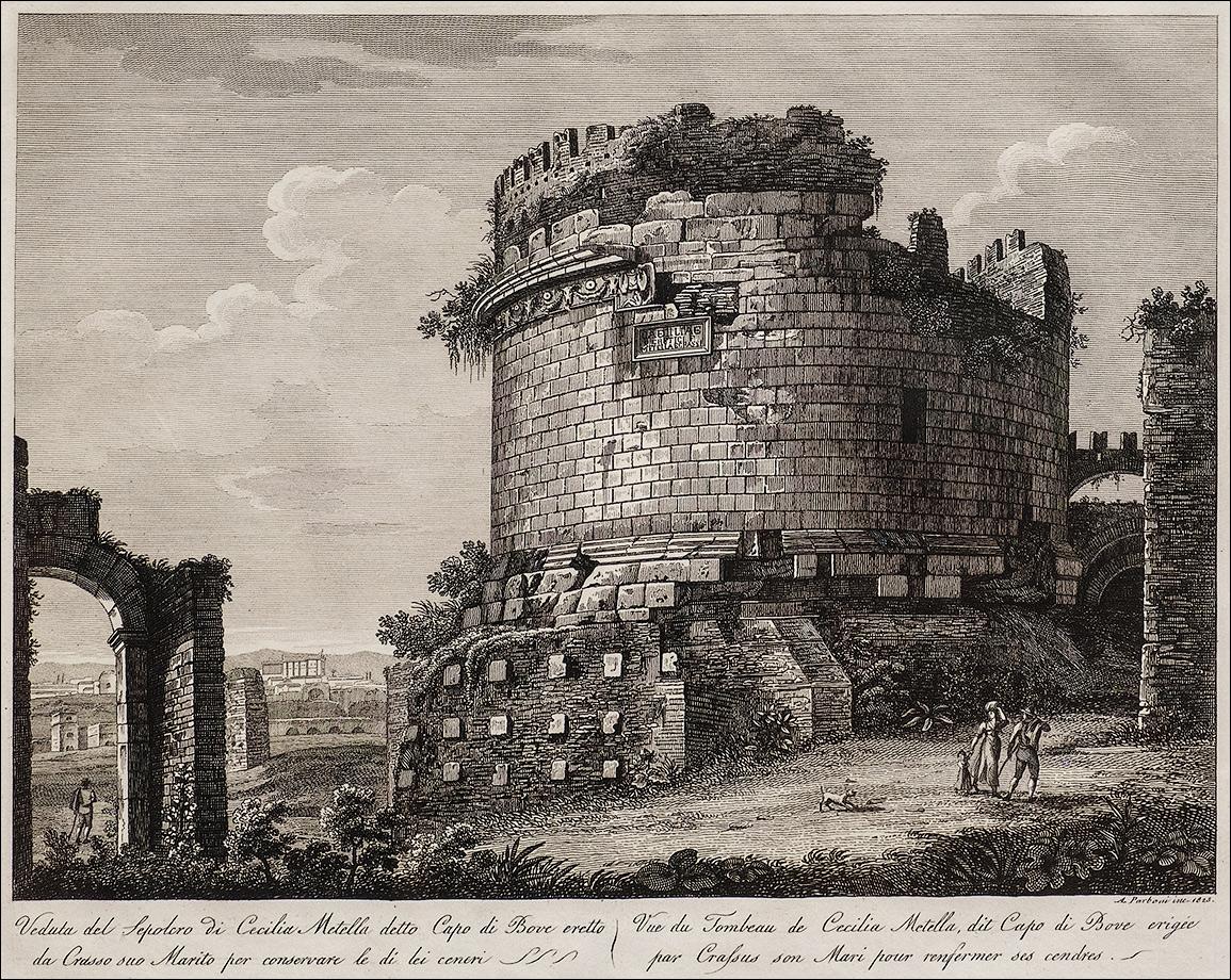 DSCF2463_Акилле-Парбони_Вид-гробницы-Цецилии-Метеллы-1825
