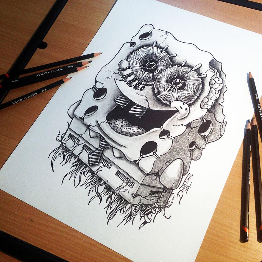 рисунки карандашом хабаровска