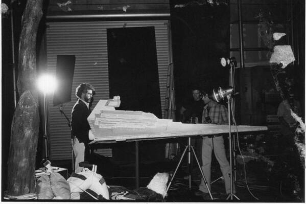 Неизвестные фотографии со съемочной площадки Звездных войн 3