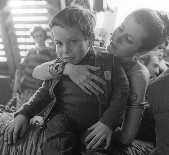 Неизвестные фотографии со съемочной площадки Звездных войн 12