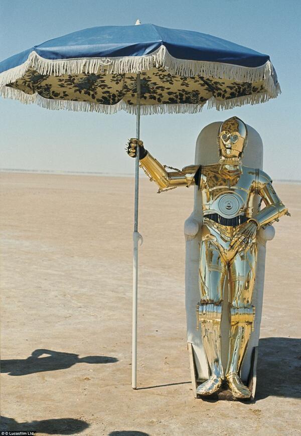 Неизвестные фотографии со съемочной площадки Звездных войн 13