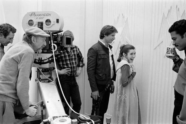 Неизвестные фотографии со съемочной площадки Звездных войн 16