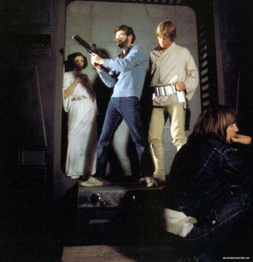 Неизвестные фотографии со съемочной площадки Звездных войн 17