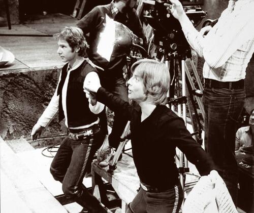 Неизвестные фотографии со съемочной площадки Звездных войн 18