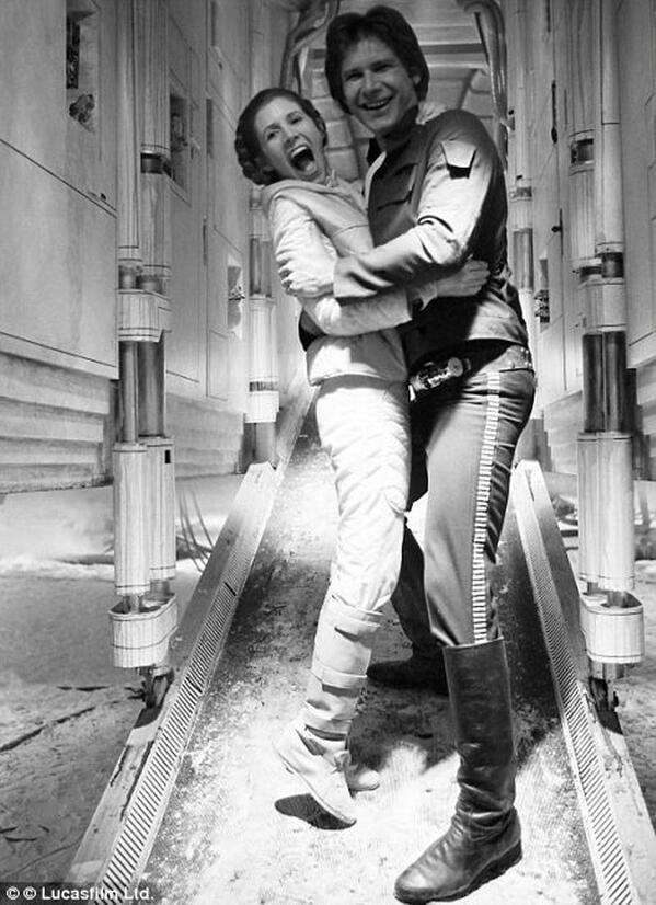 Неизвестные фотографии со съемочной площадки Звездных войн 19