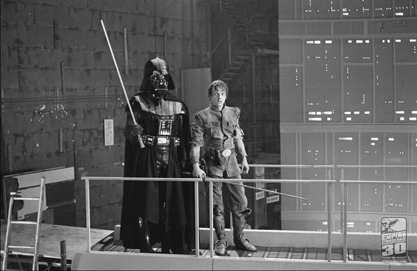 Неизвестные фотографии со съемочной площадки Звездных войн 21