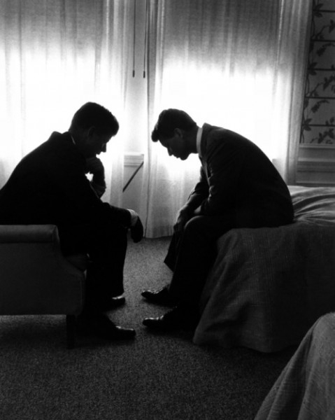 John F. Kennedy and Robert F. Kennedy, Los Angeles, 1960