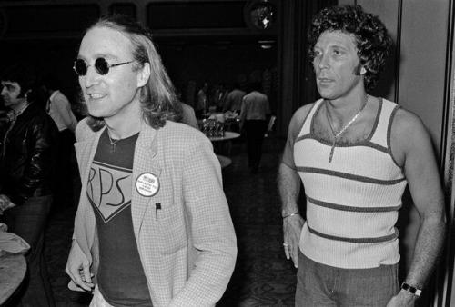 John Lennon and Tom Jones