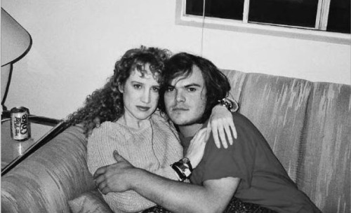 Kathy Griffin and Jack Black