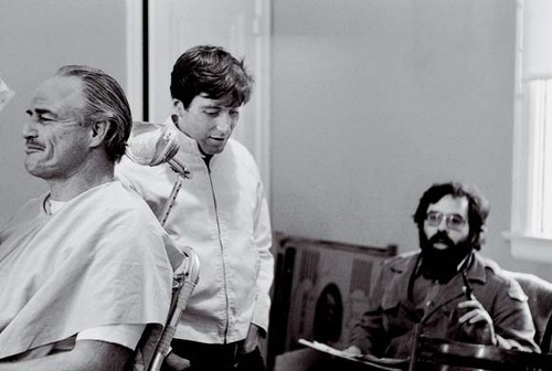 Marlon Brando, Al Pacino and Francis Ford Coppola