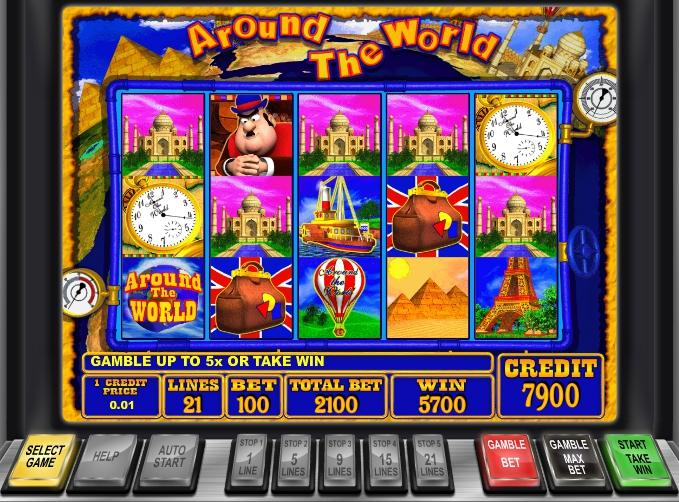 Around The World slot Вокруг света слот