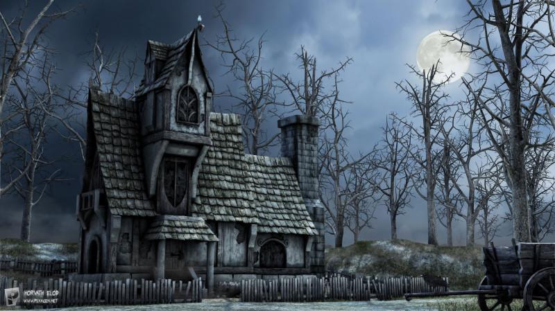 Haunted house Дом с приведениями