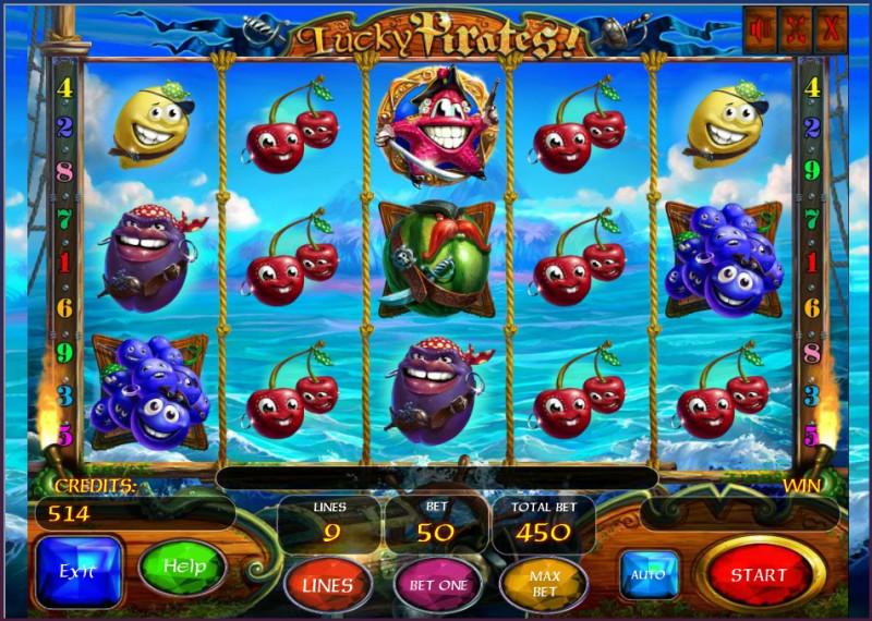 Lucky Pirates slot