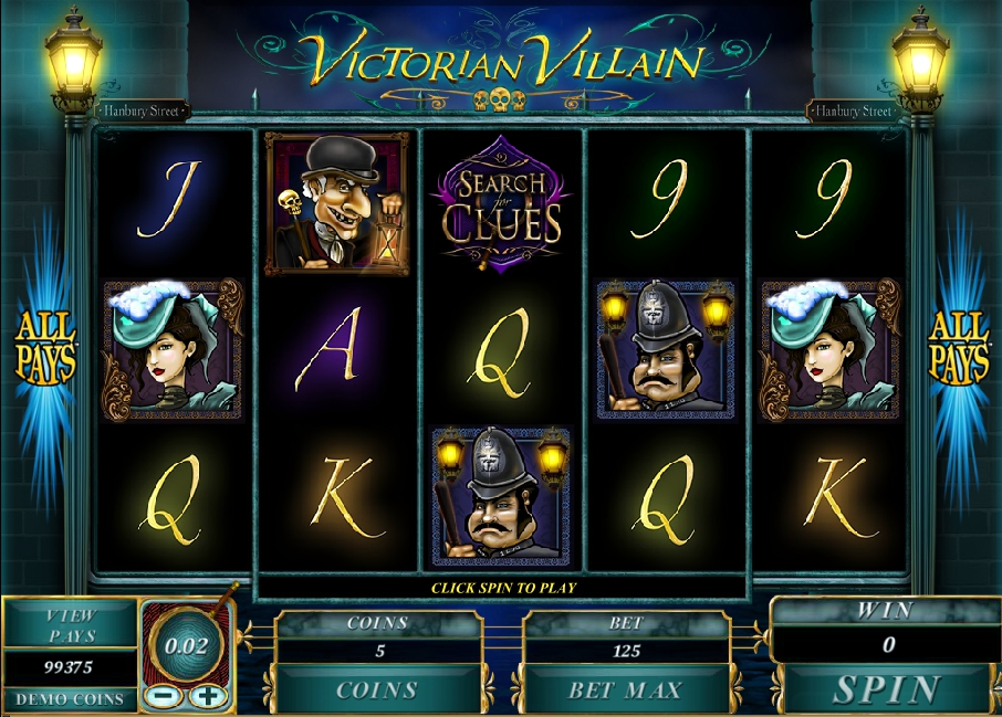 Victorian Villain слот