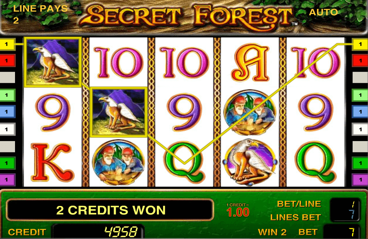 Secret forest - Секретный лес