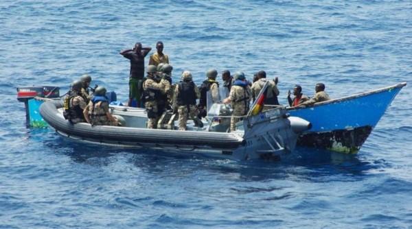 отстрел сомалийских пиратов