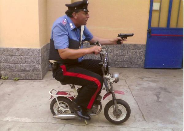 коп полицейский