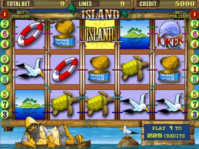 игра Island онлайн
