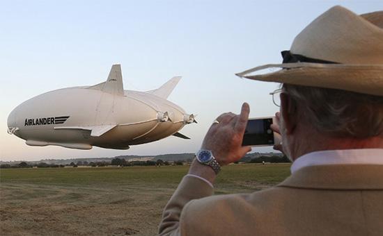 самое большое воздушное судно в мире