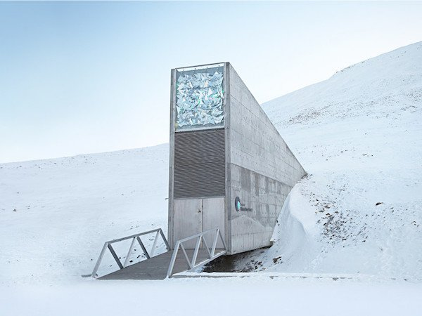 зернохранилище на Шпицбергене