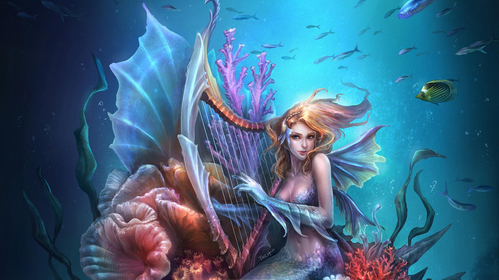Зачарованная русалка