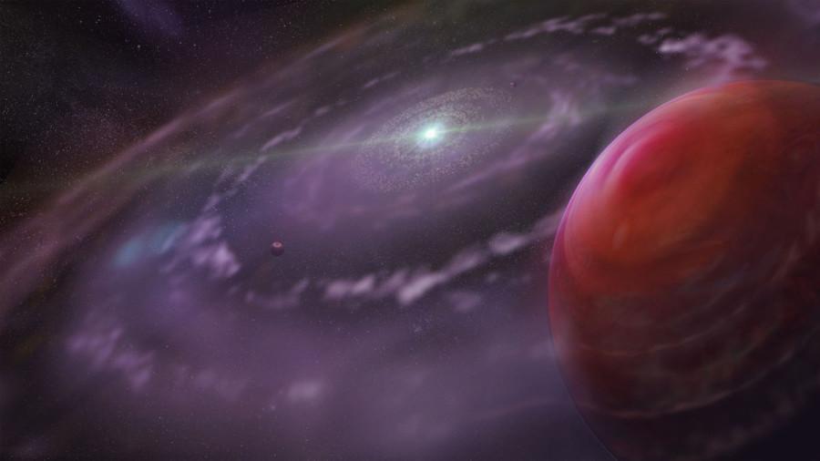 Загадочная планета