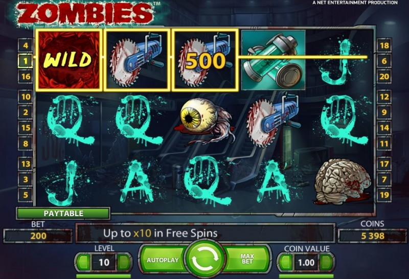 Zombiezee Money slot