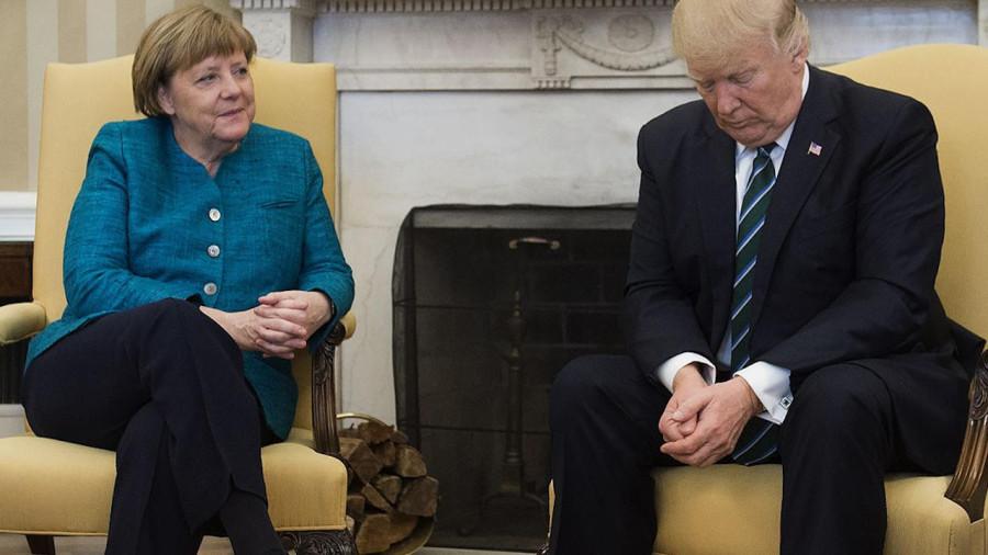 Макрон, Меркель и Мэй предали Трампа на иранской войне
