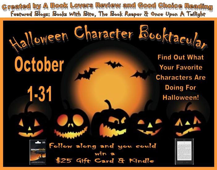 Halloween Character Booktacular Badge