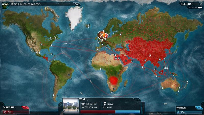 Plague Inc - симулятор пандемии