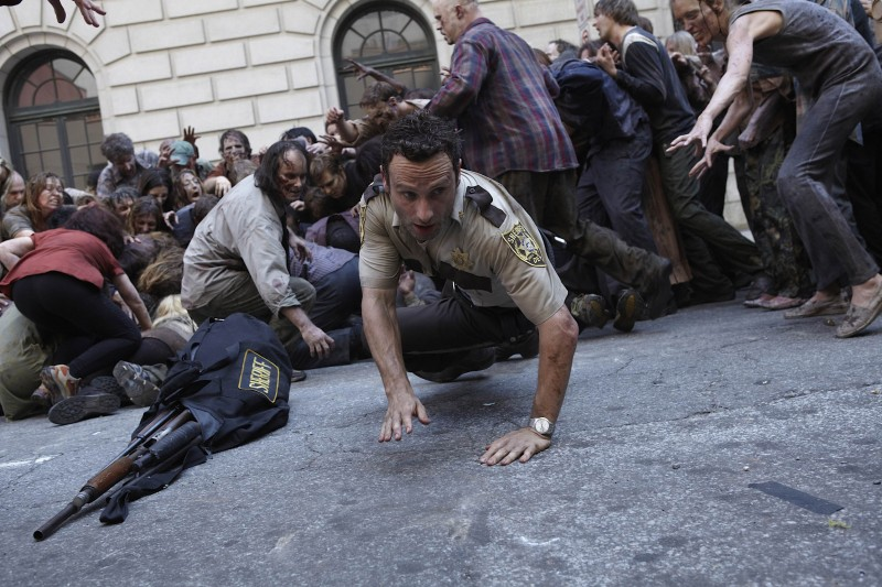 Агрессивные, плотоядные зомби не так уж далеки от реальности, как можно подумать. Кадр из сериала «Ходячие мертвецы».