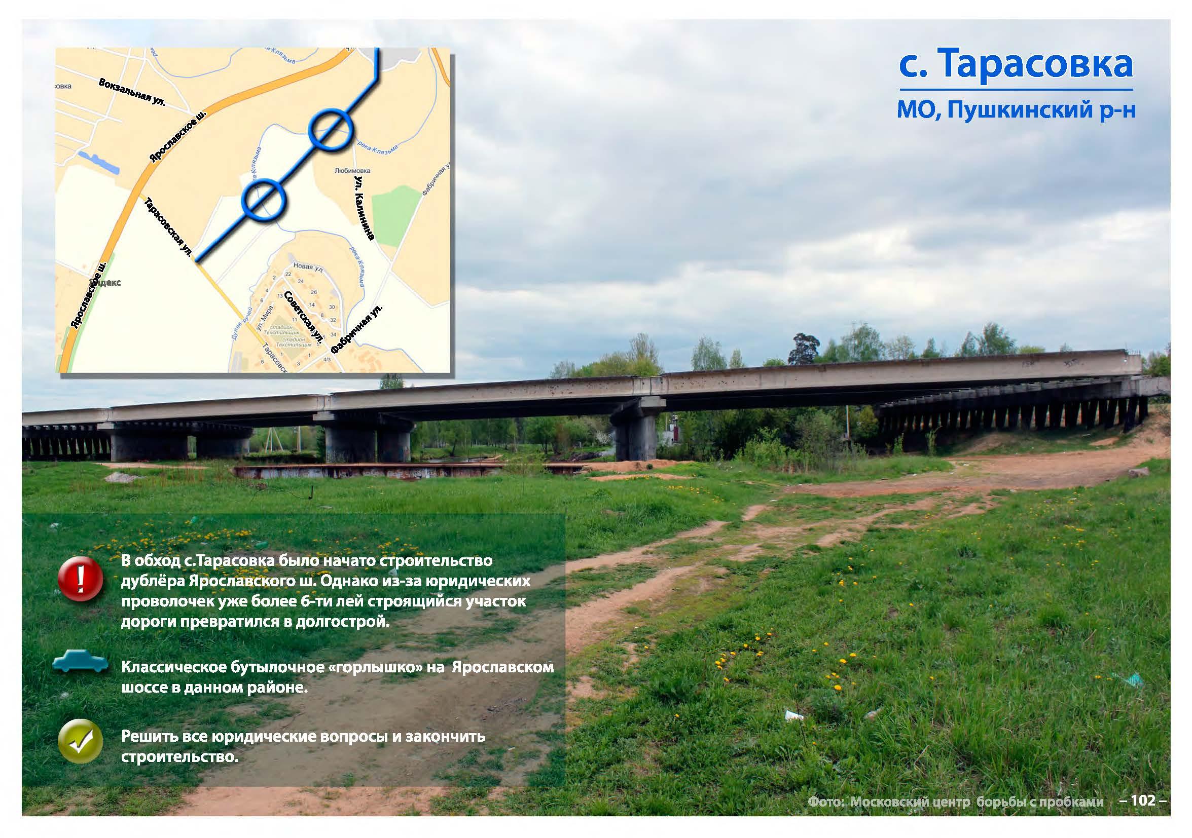 схема развязки на ярославском шоссе на ул. фрунзе