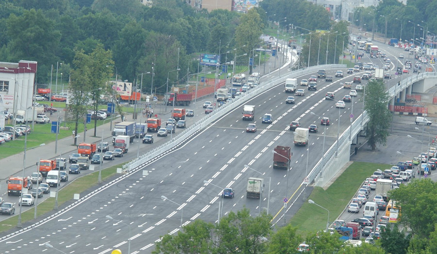Ярославского шоссе в