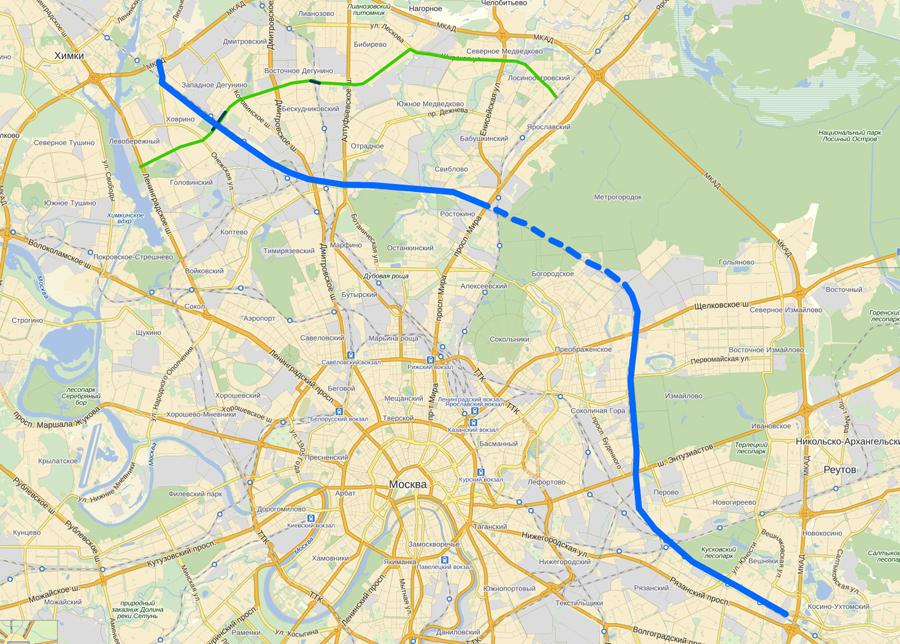 Некоторое время назад я писал про планы строительства новых дорог в Южном округе Москвы.
