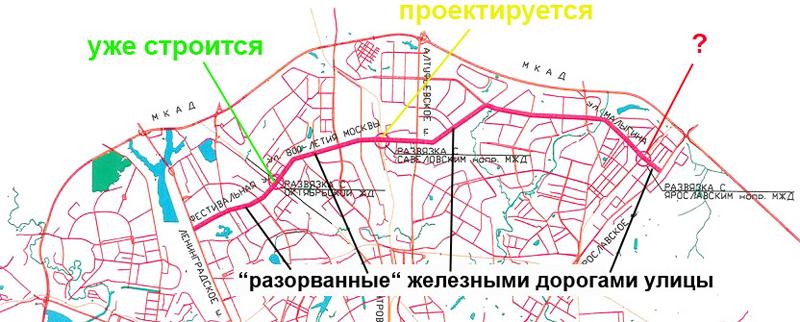 Северный-дублер-МКАД1