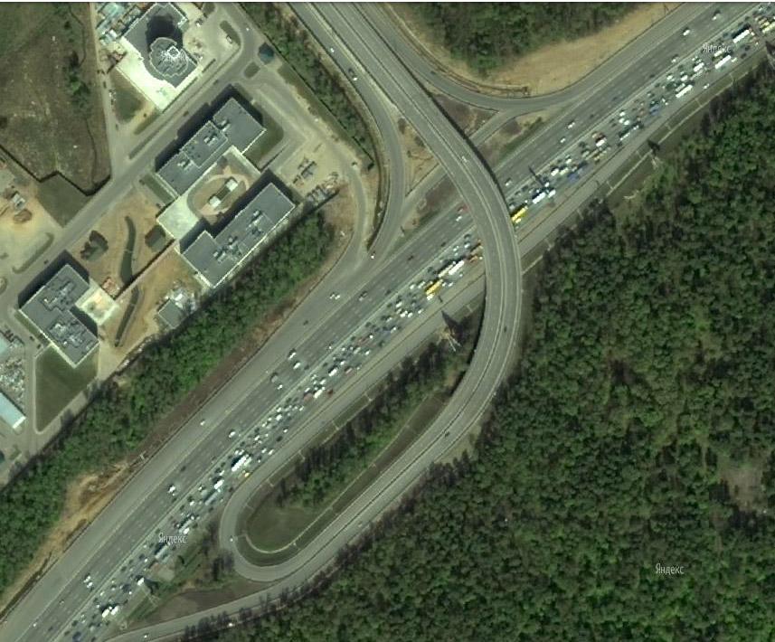 и Варшавского шоссе были