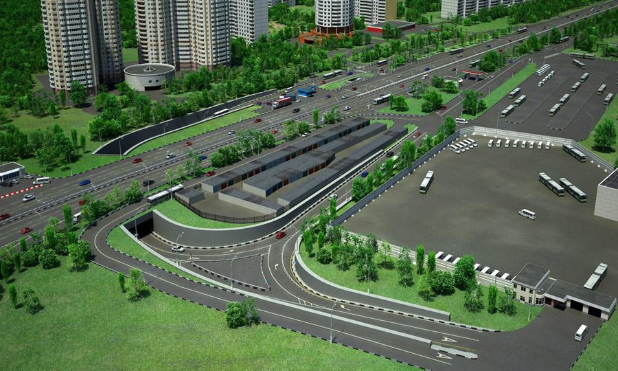 проблему Каширского шоссе: