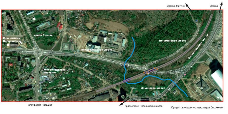 Реконструкция новорижского шоссе схема фото 257