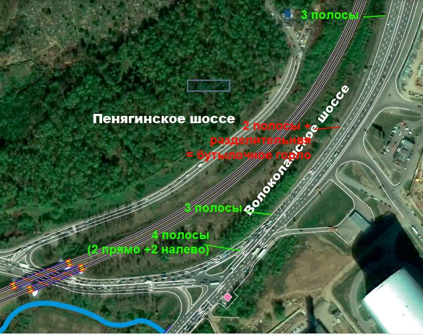 Реконструкция новорижского шоссе схема фото 726