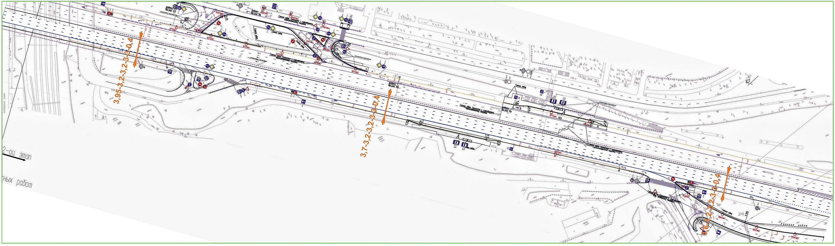 Южная рокада подробная схема 2016 борисовские пруды фото 674