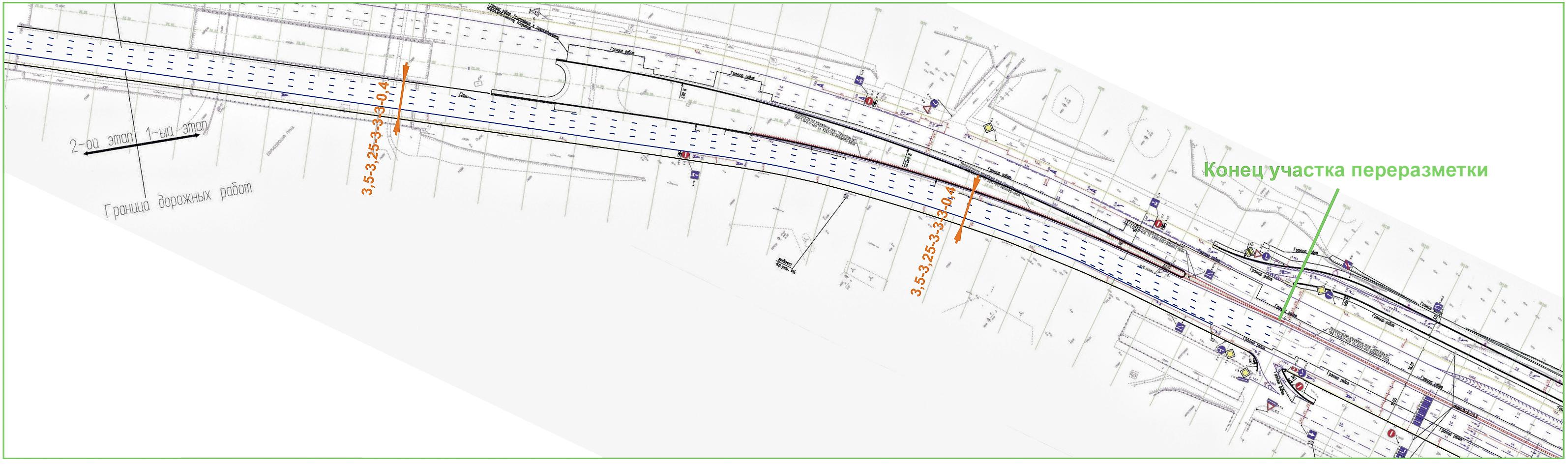 Южная рокада подробная схема 2016 борисовские пруды фото 93