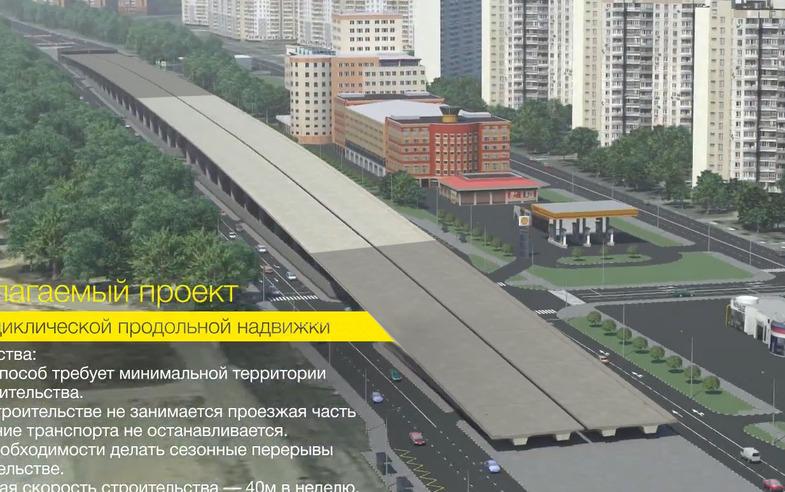 Волгоградского проспекта с