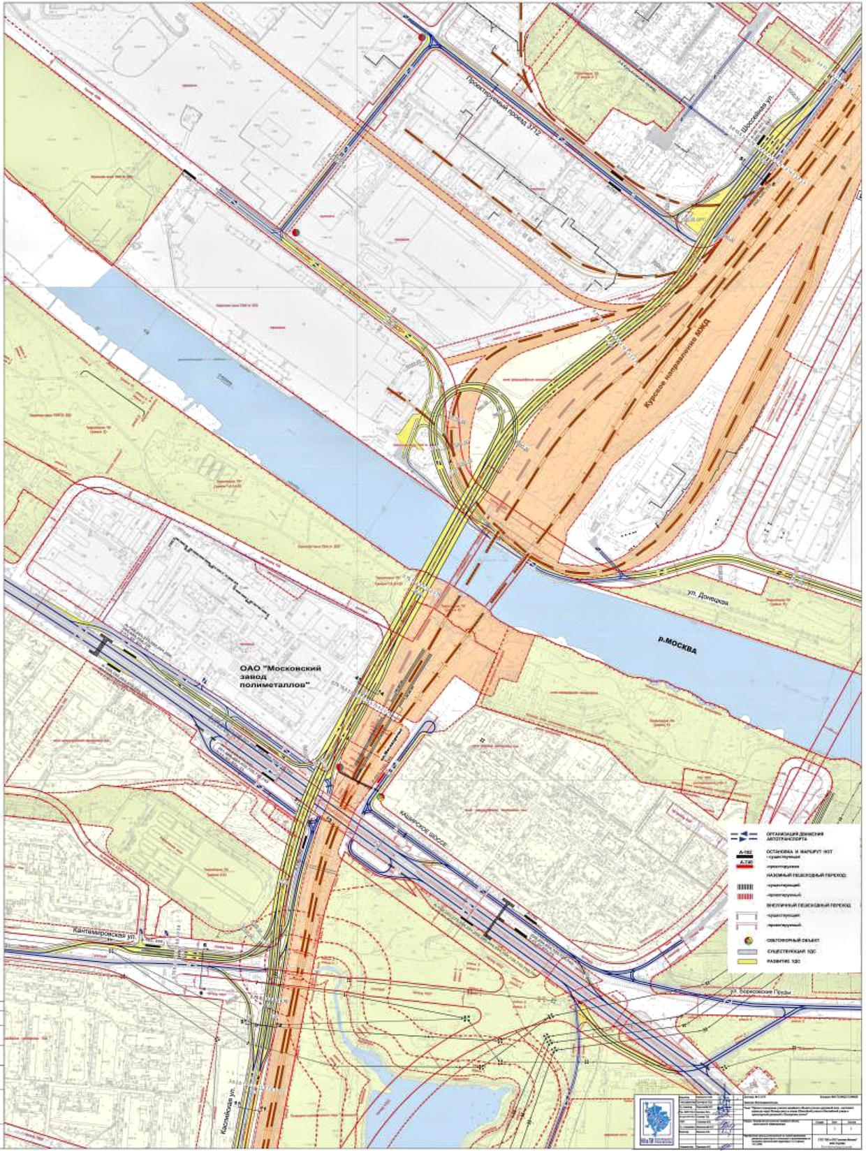 схема движения на развязке шоссе энтузиастов