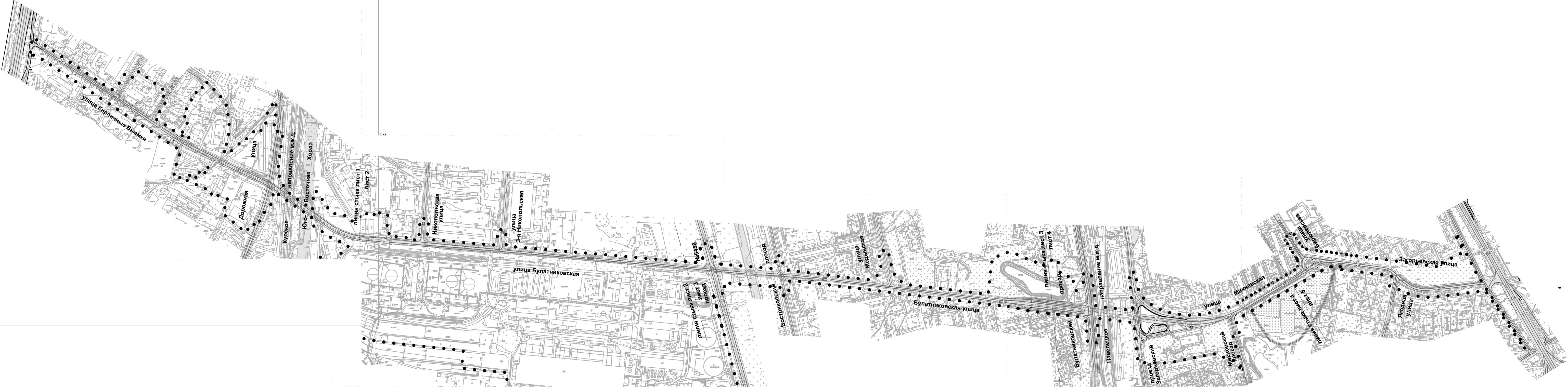 план схема новорижского шоссе в 2012 2015
