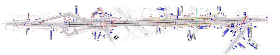 Схема развязки переезда чкаловский