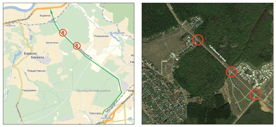 Одинцово 5 19 км можайского шоссе гибдд схема проезда